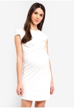 7c4ca63cfeb0f Envie De Fraise white Maternity Audrey Dress 49110AA24866D3GS_1