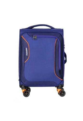 American Tourister blue American Tourister AT Applite 3.0S Koper Softcase Cabin/20inch EXP TSA – Bodega Blue 76B72AC6D02C91GS_1