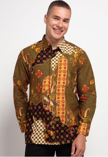 ARJUNA WEDA red Kemeja Batik Pola 89368AA6FE1C8CGS_1