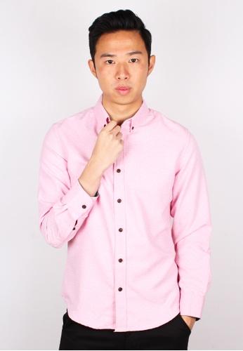 Moley pink Polka Dot Long Sleeve Shirt B6165AA4B4DEEBGS_1