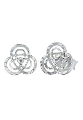 LITZ white LITZ 18K White Gold Earrings OM-JEV0018CBQ EDE4CACB155805GS_1