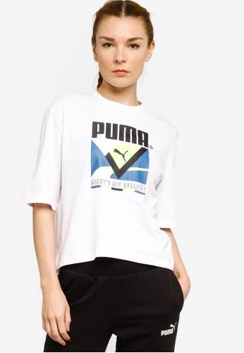 PUMA white Puma Sportstyle Prime Tfs Graphic Regular Tee E05DFAA53715DAGS_1