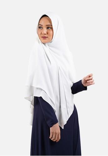 QUEENSLAND white Jilbab Instan Syari A04105Q Putih 904ADAAA398FA7GS_1