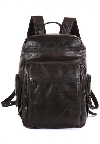 Twenty Eight Shoes Vintage Cow Leather Backpack 7202 E499DACA343169GS_1