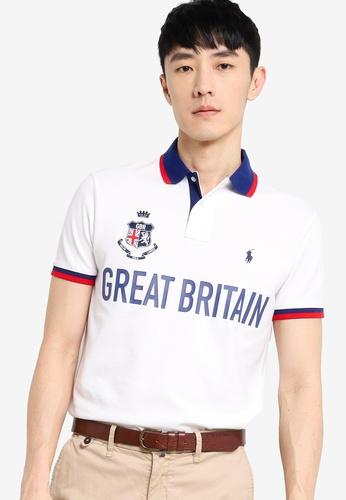 Polo Ralph Lauren white Short Sleeve Knit Polo Shirt 9BB8CAAE54CBDFGS_1