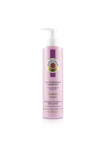 ROGER & GALLET ROGER & GALLET - Gingembre Rouge Energising & Hydrating Body Lotion (with Pump) 200ml/6.6oz 98AA3BEFC2A623GS_1