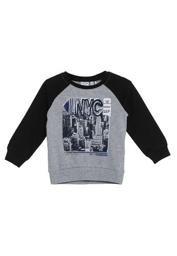 NAME IT grey Vildar Long Sleeves Sweater 7E146KADDF1E82GS_1