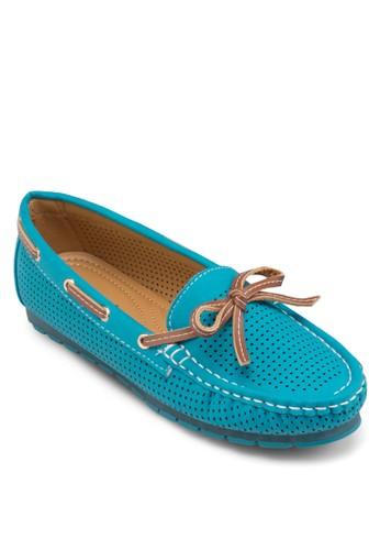 沖孔船型鞋, esprit outlet 台灣女鞋, 船型鞋