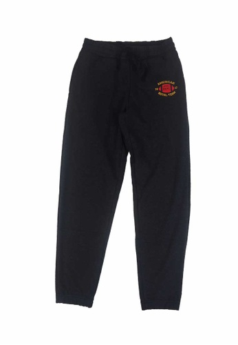 Beverly Hills Polo Club black BHPC Women Double Knit Graphic Jogger 59839AAB52141AGS_1