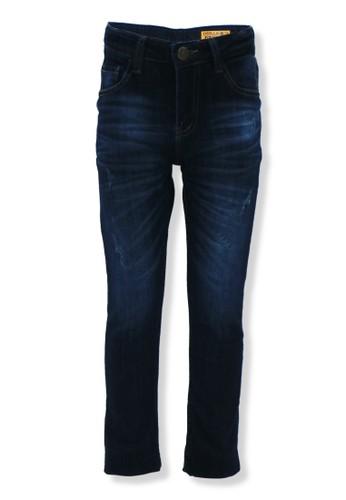 Osella Kids blue Osella Celana Anak Laki Laki Jeans Polos Dark Blue 3831FKA4118EB1GS_1