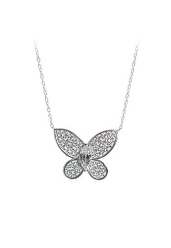 Cocoa Jewelry silver Cocoa Jewelry Premium - Butterfly Neklace F8B80AC7A7CA16GS_1