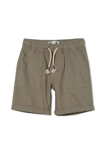Cotton On Kids silver Hunter Shorts 0FA50KACC8817DGS_1