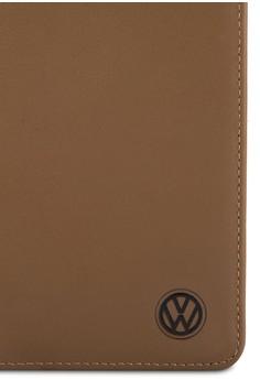 Volkswagen 簡約真皮對折長夾