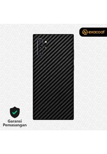 Exacoat Galaxy Note 10 / Note 10+ 3M Skins Carbon Fiber Black - Galaxy Note 10+ A62E2ESAA5CF3BGS_1