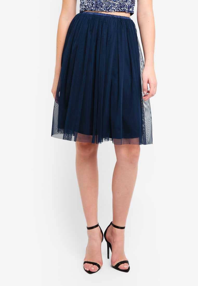 Navy amp; Lace Val Beads Skirt OxIqxFfAw