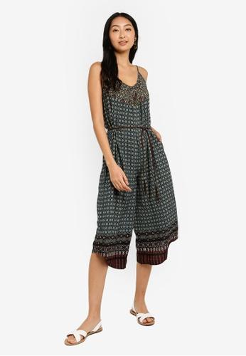 887106472b Shop Desigual Pant Rasha Jumpsuit Online on ZALORA Philippines