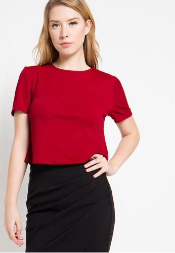Raspberry red Kiara Blouse RA572AA15AKYID_1