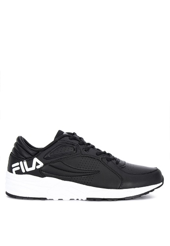Fila black Dependent Running Shoes 8B34ASHD666CBAGS_1