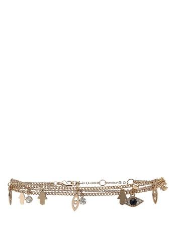 Call It Spring gold Chapmansbling Bracelet 15D8EACD3D7046GS_1
