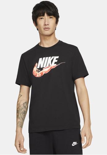 Nike black Men's Sportswear Food Shrimp Tee 77A7AAA62097F8GS_1
