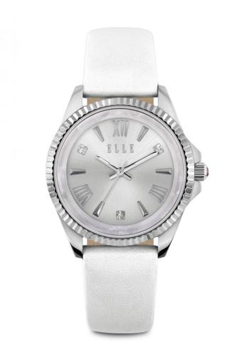 ELLE white Fashion Ladies Watch EL900AC74MVXMY_1
