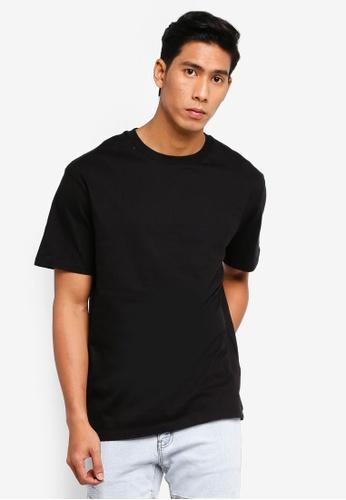 Factorie 黑色 Regular T Shirt 3F1F9AAECBE3AFGS_1