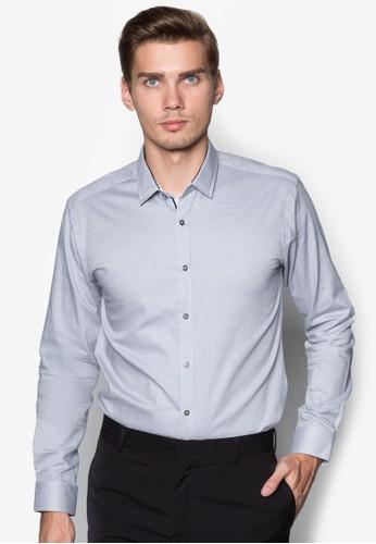 基本款長袖襯zalora 手錶衫, 服飾, 服飾