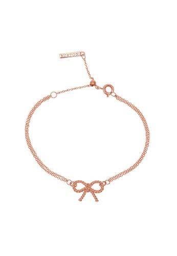 Olivia Burton gold Olivia Burton Vintage Bow Women's Bracelet (OBJ16VBB02) 99E80AC98C07D0GS_1
