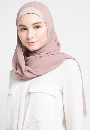 Vivi Zubedi brown Hijab VI990AA96WCDID_1