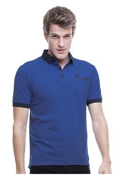 harga LGS - Slim Fit - Kaos Polo Active - Kerang Tinggi - Biru Zalora.co.id