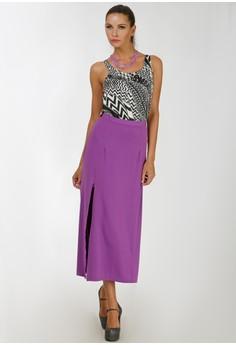 Golda Maxi Skirt with Slit