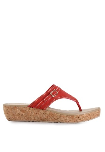 Mandy's red Aiyana Red Sandals MA947SH42DZDID_1