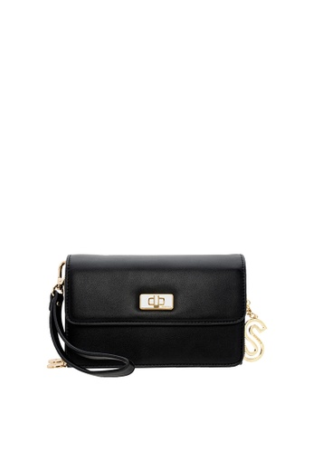 ecc92826f7 SEMBONIA black Synthetic Leather Shoulder Bag (Black) B53FBAC7E29E47GS_1