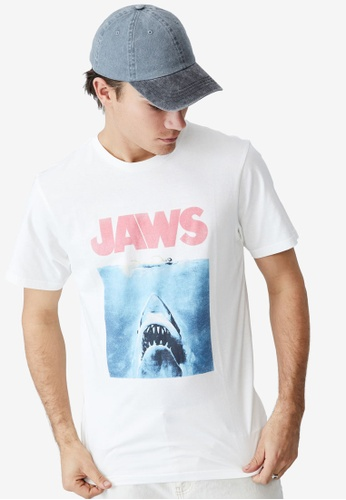Cotton On white Tbar Collab Movie and TV T-Shirt 56C29AA2AB2885GS_1