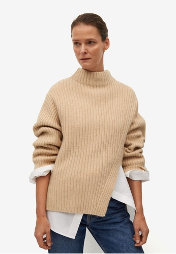 Mango grey Cut-out Knitted Sweater 1F4D2AA649B956GS_1