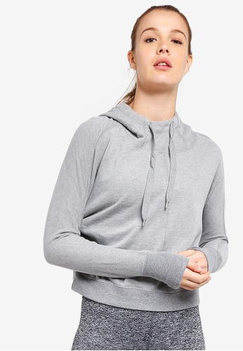 Cotton On Body grey Bliss Longsleeve Sweat Top 64529AAAE40B9FGS_1