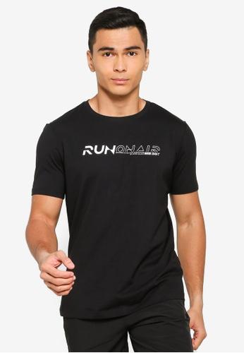 361° black Running Series Short Sleeve T-Shirt BE9C5AAFCFD75DGS_1