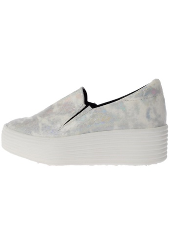Maxstar 568 Synthetic Leather White Platform Slip on Sneakers US Women Size MA168SH94DWRHK_1