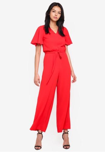 76ea45eb05e Buy Dorothy Perkins Petite Tie Front Jumpsuit