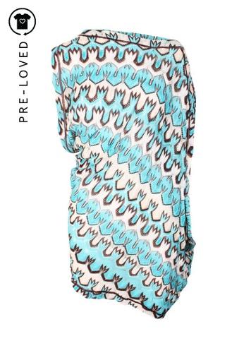 Missoni blue Pre-Loved missoni One Shoulder Asymmetrical Dress 59B03AAEA2A554GS_1