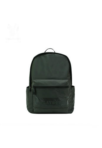 Playboy green Backpack 94255AC96BC756GS_1