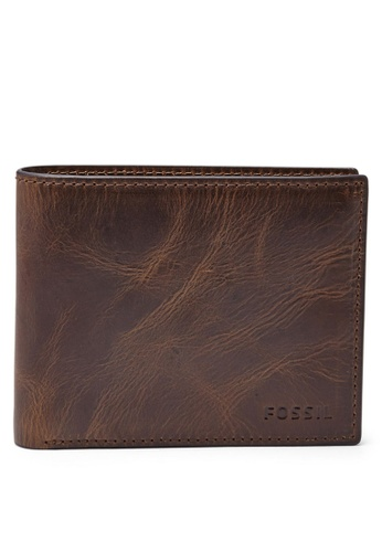 Fossil brown Fossil Bifold Wallet ML3681201 FO313AC19ILKSG_1