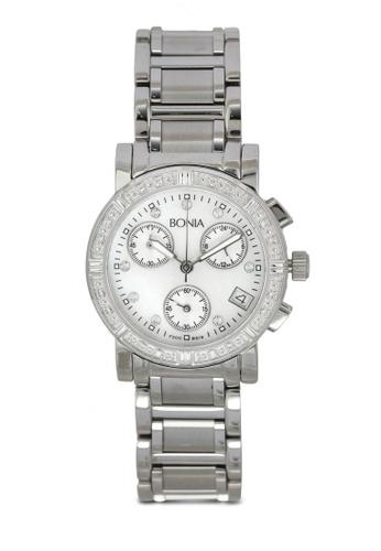 BONIA silver Bonia BNB619-2356C Silver Stainless Steel Watch BO777AC0SE1KMY_1