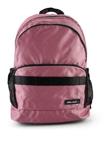 niko and ... pink Casual Backpack 47455AC6DDC93FGS_1