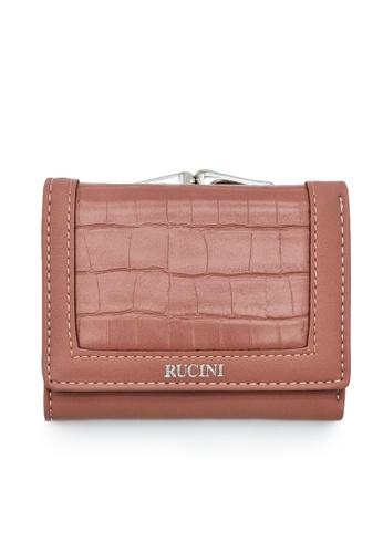 RUCINI purple Rucini Ladies Short Tri-Fold Kiss Lock Wallet 98A1BACFF09D23GS_1