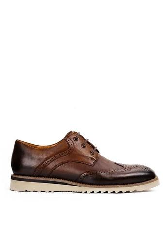 Twenty Eight Shoes 波特復古手工雕花真皮皮鞋 BL026-1 07A80SH5DE3F1DGS_1