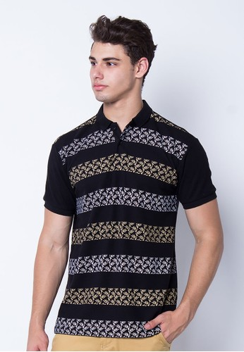 Polo Shirt Plant Print