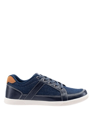 Antton & Co navy Antton & Co Evans-Lace Up In Navy C54D2SHAB845FBGS_1