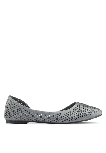 Mimosa grey Perforated Flats 62CEBSHD65A7F2GS_1