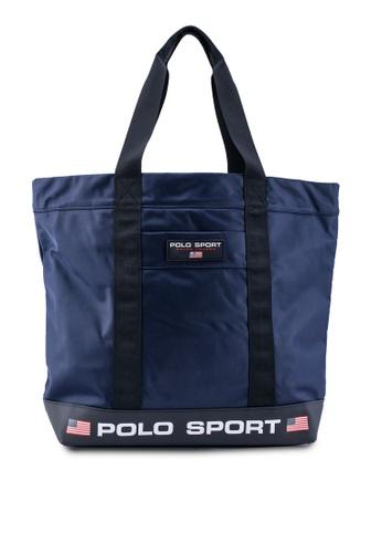 polo ralph lauren navy Polo Sports Nylon Tote 05CE1AC65DDDB9GS_1